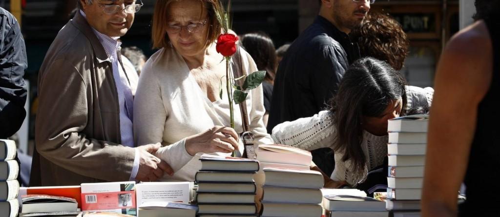livros e rosas catalunha