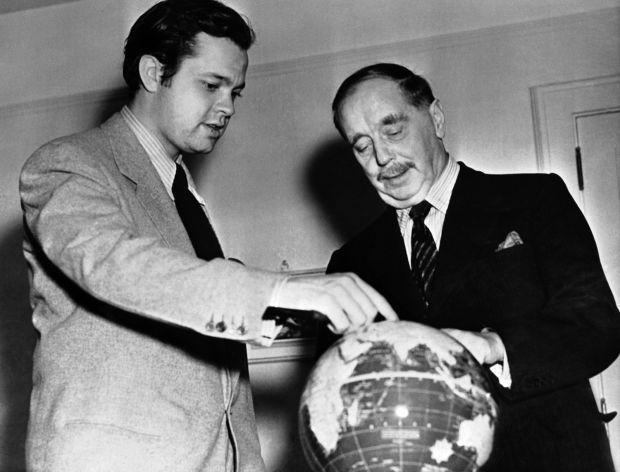 Orson Welles e H. G. Wells