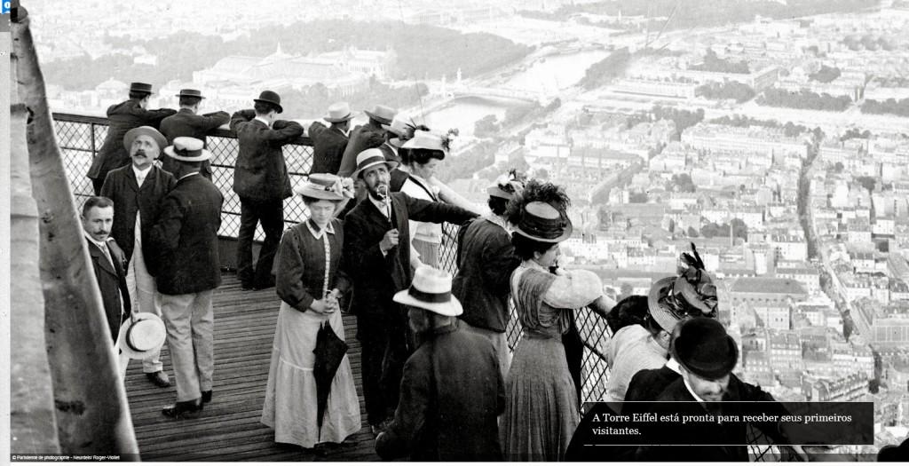 Em 6 de maio de 1889 a Torrei Eiffel foi aberta para receber visitantes