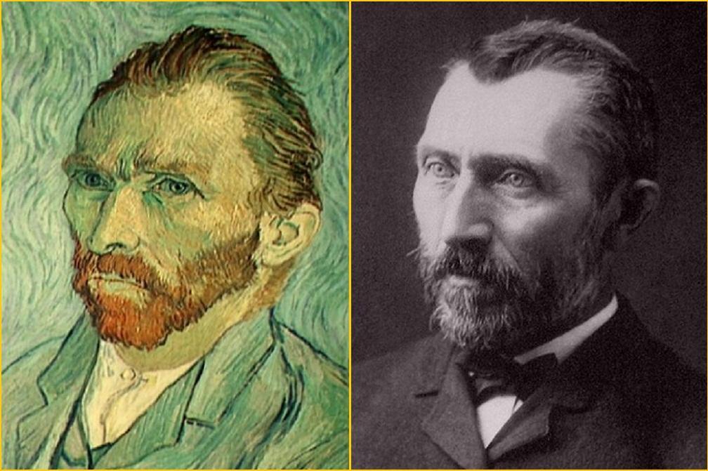 vincent van gogh - auto-retrato e retrato do pintor