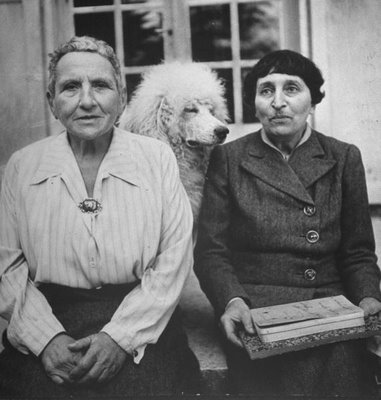 Gertrude e Alice foram companheiras até o fim da vida