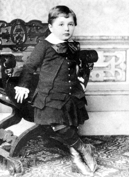 O pequeno Albert Einstein