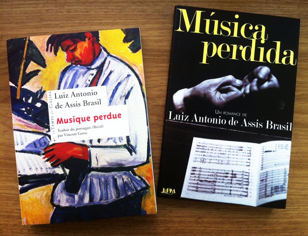 """Musique perdue"" e Música perdida"", de Luiz Antonio de Assis Brasil"