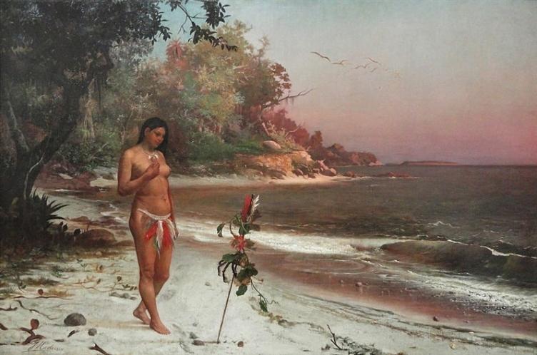 Iracema, pintada por José Maria de Medeiros