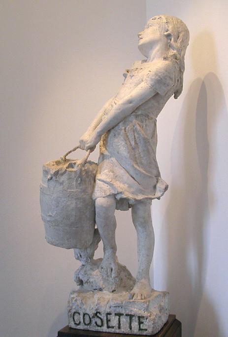 Le petite Cosette de Pompon - Escultura do século XIX