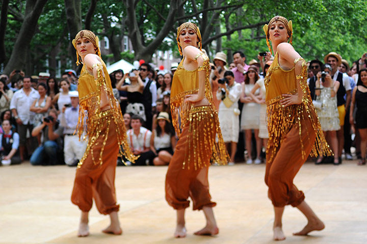 Eighth Annual Jazz Age picinic in New York