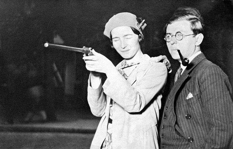 Simone e Sartre em momento 007 em junho de 1929