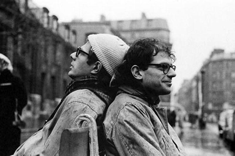 Peter Orlowski e Allen Ginsberg