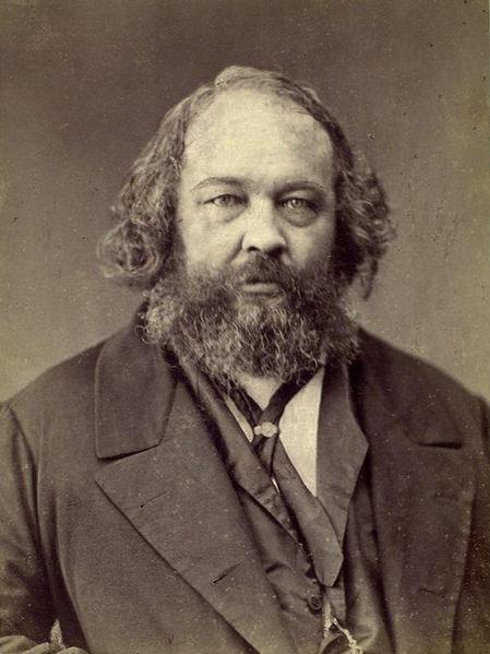 Bakunin em foto de Félix Nadar