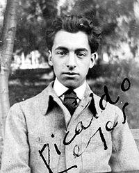 Pablo Neruda aos 15 anos, quando ainda chamava-se Ricardo