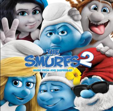 SMURFS 2 album cover