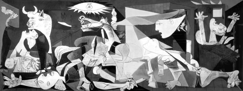 A Guernica, de Picasso, é a imagem mais marcante da Guerra Civil Espanhola