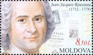 """Até a Moldávia teve seu selo """"rousseauniano"""""""
