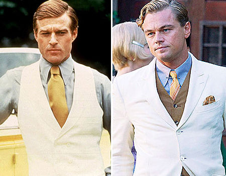 Robert Redford ou Leonardo di Caprio. Quem é mais Gatsby?