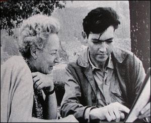 Julio Cortázar e sua mãe