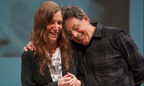 Patti Smith Philip Glass in Edinburgh