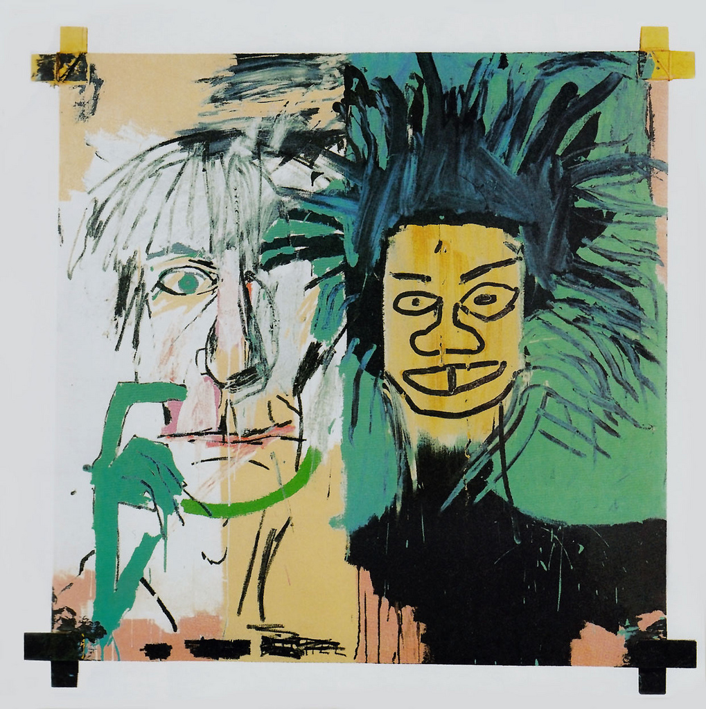"""c87e977e2baba """"Dos cabezas"""" (1982) de Jean Michel Basquiat"""