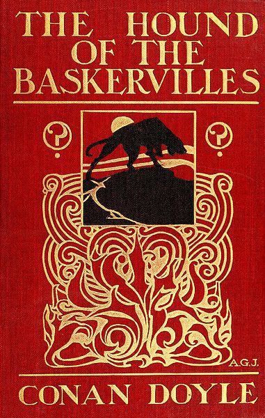 """A primeira edição de """"O cão dos Baskerville"""" de 1902"""