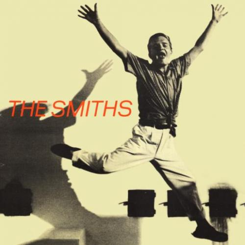 A capa do single do The Smiths com Truman Capote saltitante