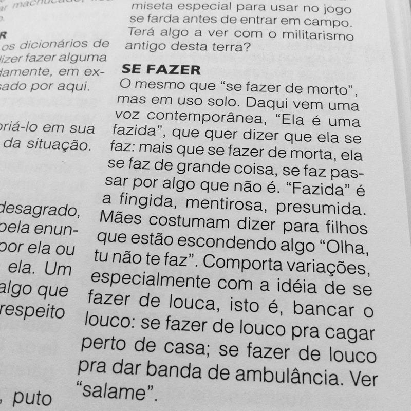 """""""Se fazer"""" é um dos verbetes do """"Dicionário de Porto-Alegrês"""""""