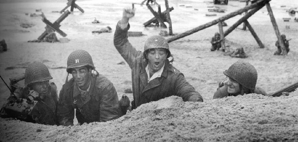 """Robert Mitchun em ação no """"Mais longo dos dias"""" cinematográfico"""