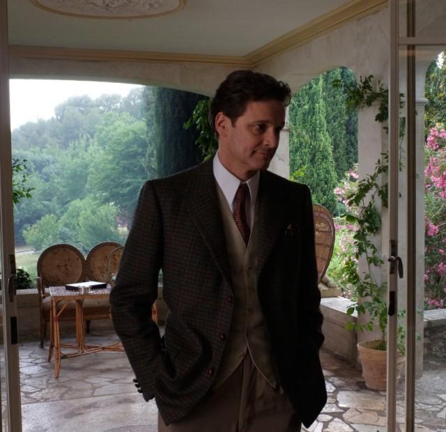 Colin Firth em cena do novo filme de Woody Allen
