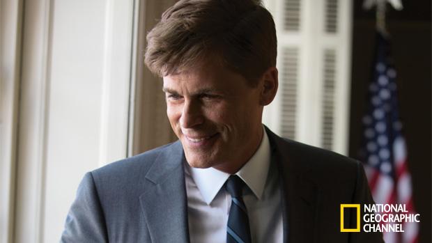 """Rob Lowe é JFK no filme """"Quem matou Kennedy"""""""