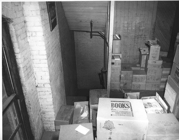 O depósito onde Lee Oswald esperou pela passagem de Kennedy