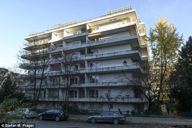 O edifício em Munique onde as obras foram encontradas