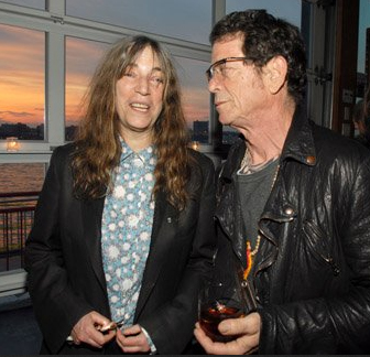Patti Smith e Lou Reed nos anos 2000