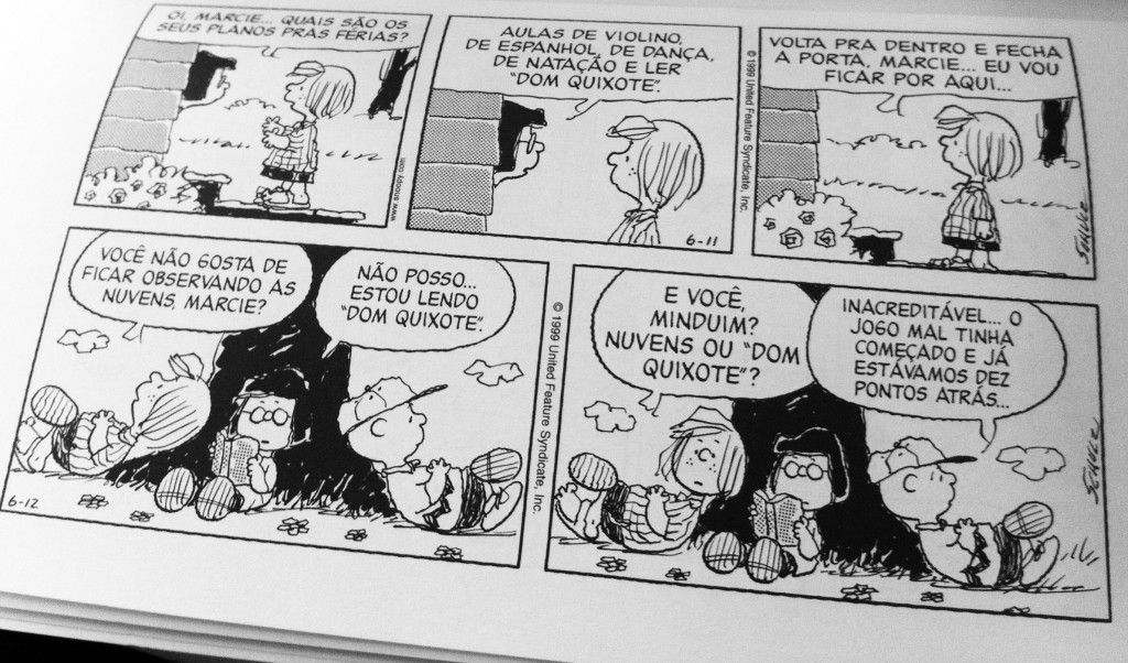 Peanuts_domquixote