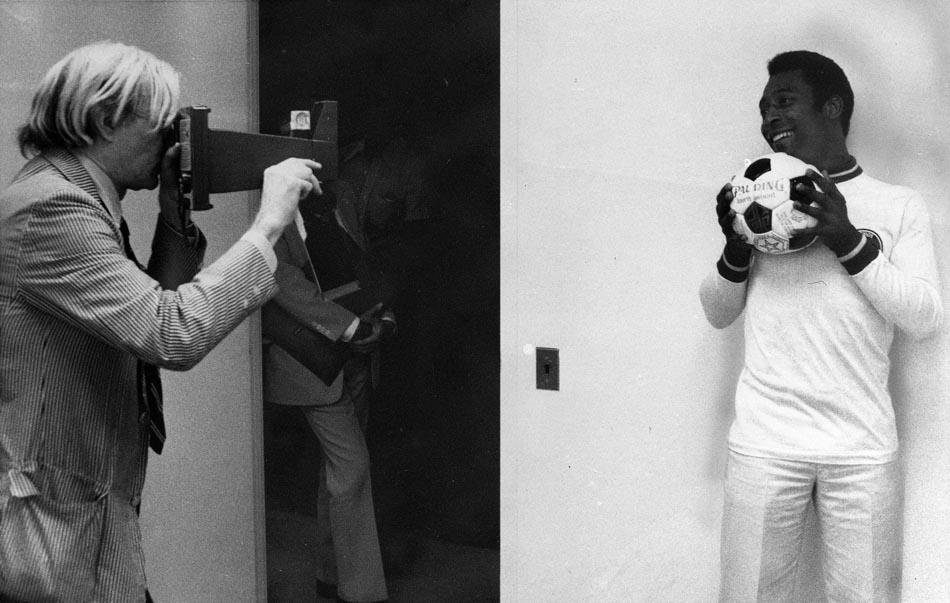 Warhol e Pelé