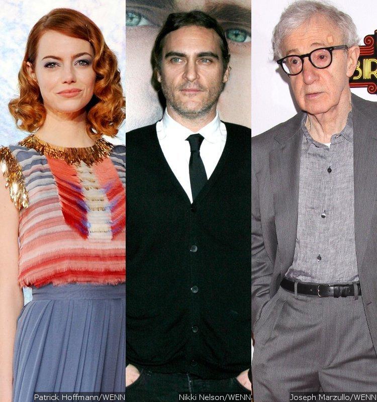 Emma Stone, Joaquin Phoenix e Woody Allen. Em 2015, descobriremos no que vai dar essa combinação.