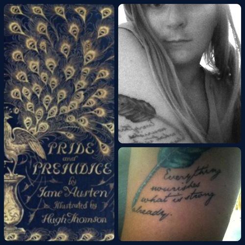 """Essa é fã de """"Orgulho e preconceito"""", de Jane Austen"""