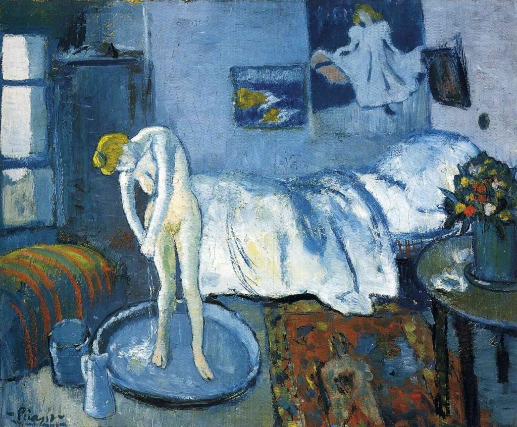 """""""Blue Room"""", pintado por Picasso em 1901"""