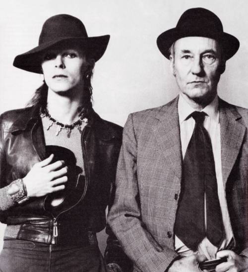 William Burroughs com David Bowie