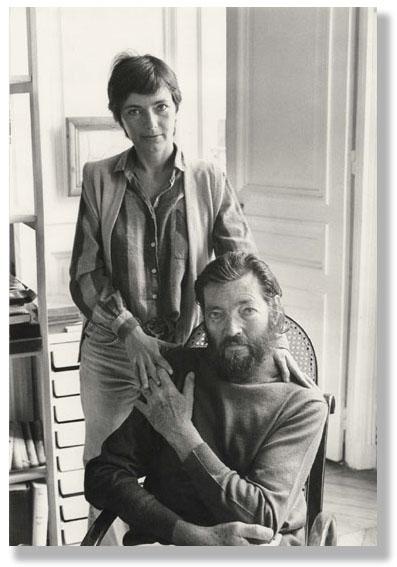Julio Cortázar e Edith Arvin