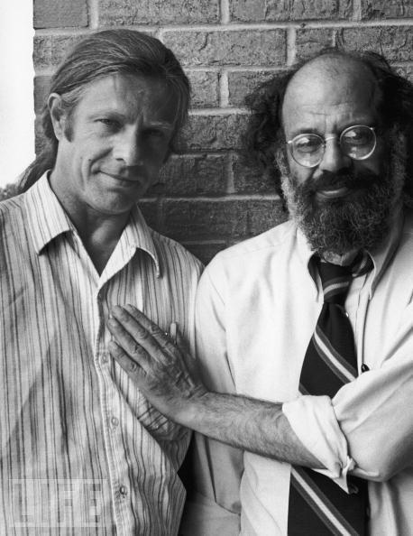 Peter Orlovski e Allen Ginsberg