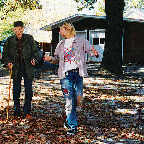 Com Curt Cobain