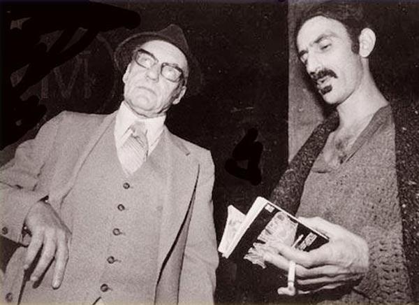 Com Frank Zappa