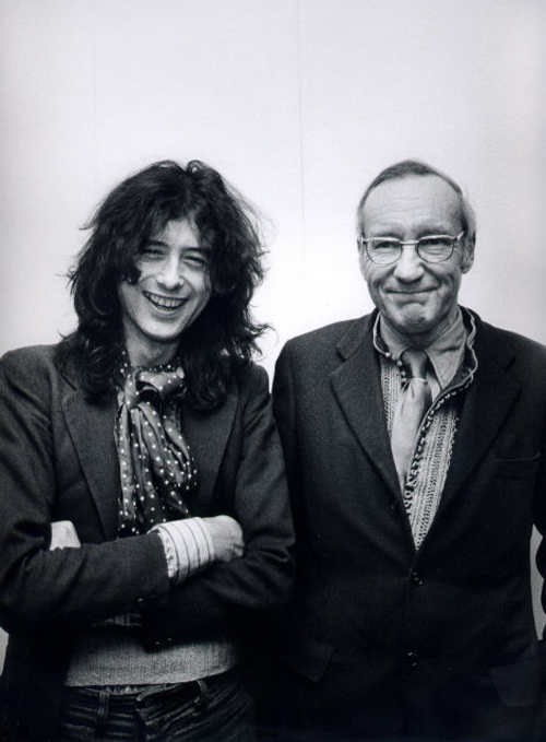 Com Jimmy Page