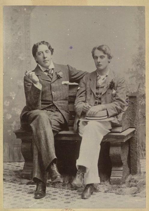 Oscar Wilde e Lord Alfred Douglas (Bosie)
