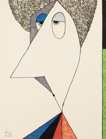 Auto-retrato de 1985
