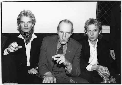 Com Sting e Andy Summers