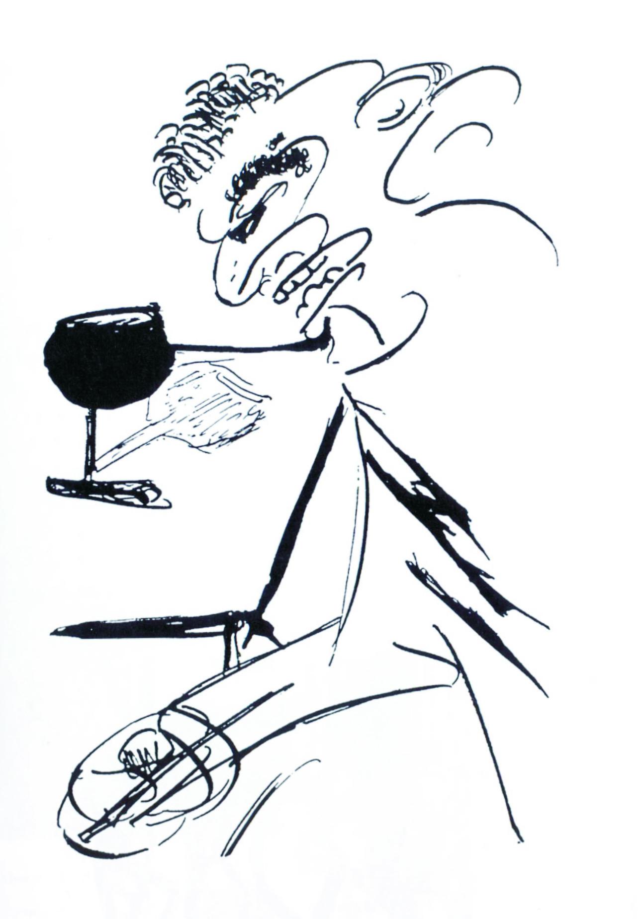 Desenho de Franz Kafka