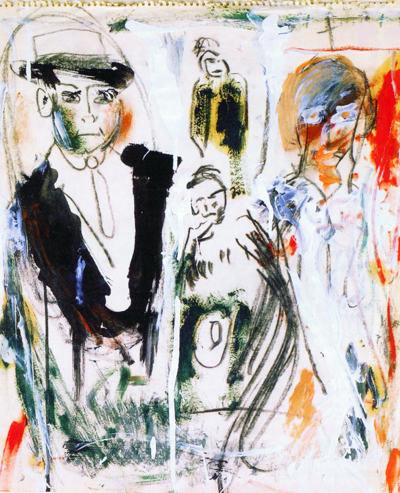 Pintura de Jack Kerouac
