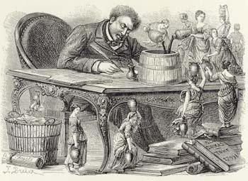 Caricatura de 1860