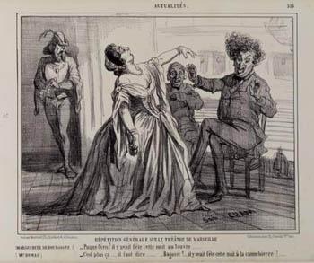 Caricatura também de 1858