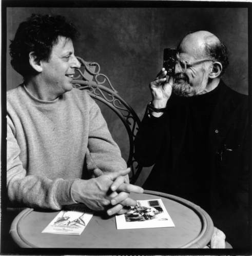 Philip Glass e Allen Ginsberg