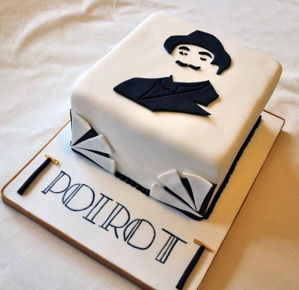 Bolo Poirot criado pela Sugar Rush Jill